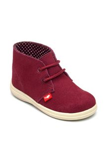 Girls Panther Suede Ankle Boot.
