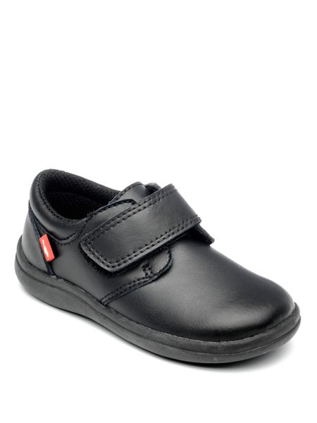 Chipmunks Boys Dixon Black Leather School Shoe.