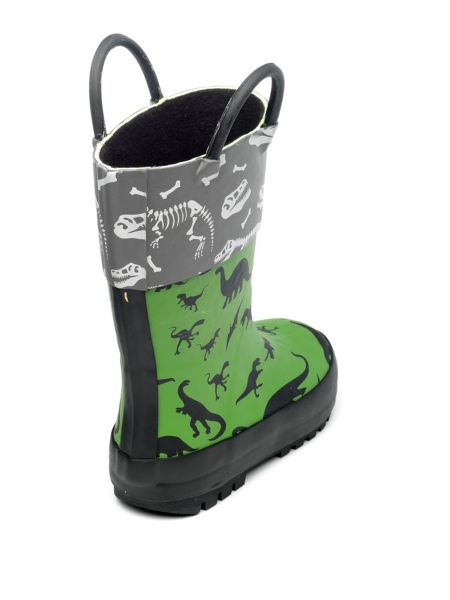 Chipmunks Boys Jurassic dinosaur rain boot