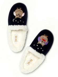 Freestep Owl novelty slippers