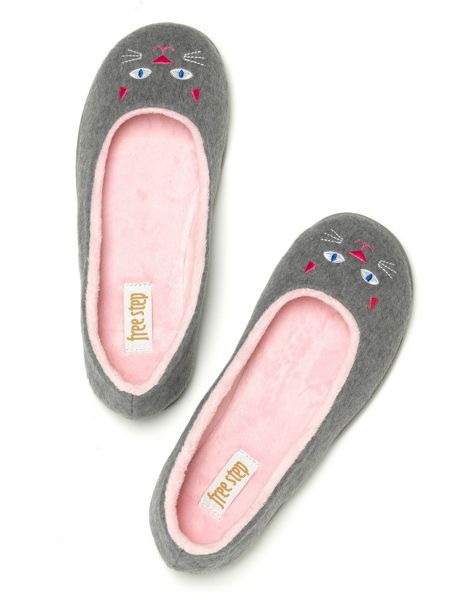 Freestep Kitten novelty slippers