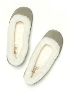 Freestep Laurel suede slippers