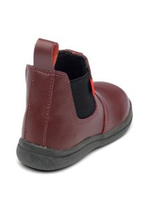 Chipmunks Boys Callum 2 oxblood leather boots