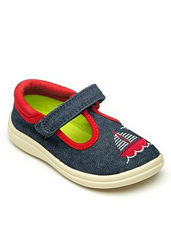 Boys denim shoe