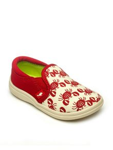Chipmunks Kids beach print canvas shoes