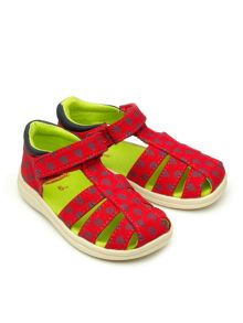 Chipmunks Boys Rick canvas sandals