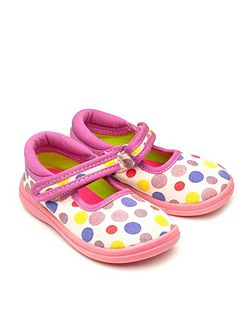 Girls Hope canvas shoes