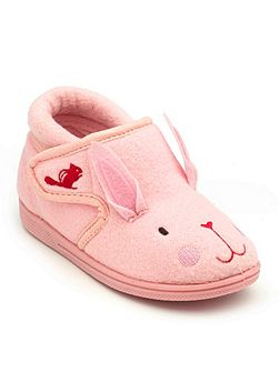Girls Katie rabbit slipper