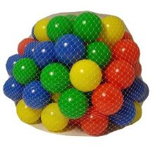 Grossman 100 multi coloured play balls