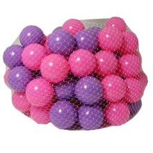 Grossman 100 pink and purple play balls