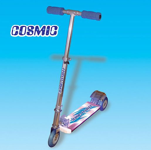 Cosmic Light Scooter - Blue