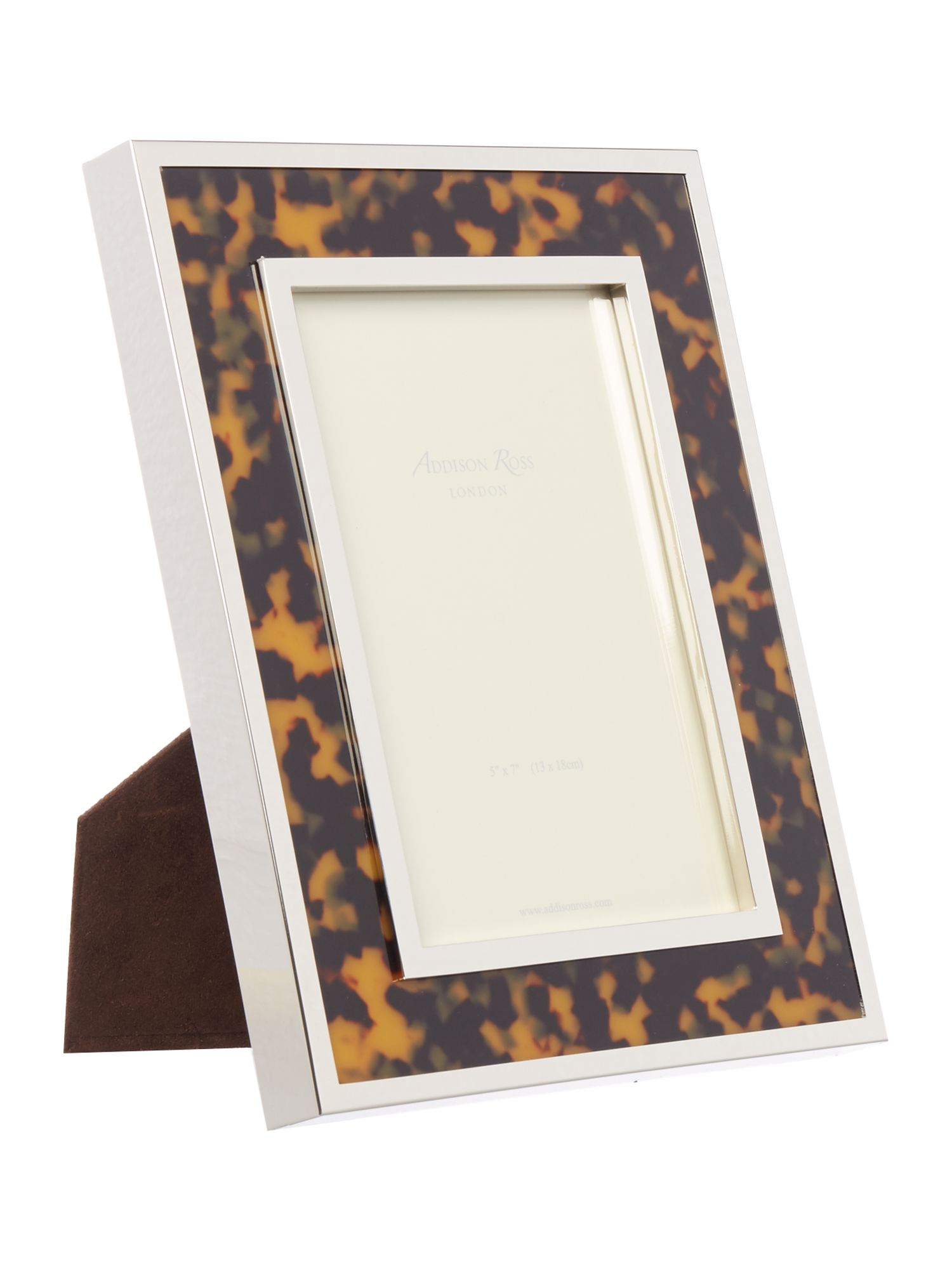 Image of Addison Ross Faux Tortoiseshell Frame 5x7, Green/Brown
