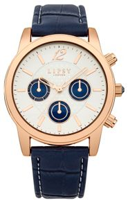 Lipsy Ladies blue strap watch