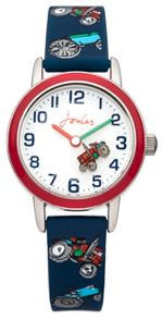 Joules Boy`s navy silicone strap watch