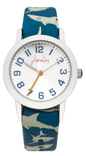 Joules Boy`s blue  strap watch