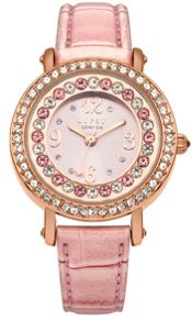 Lipsy Ladies metallic strap watch