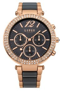 Lipsy Ladies grey bracelet watch