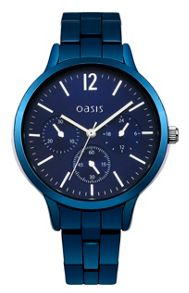 Oasis Ladies  blue bracelet watch