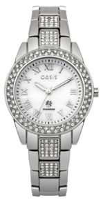 Oasis Ladies silver tone bracelet watch