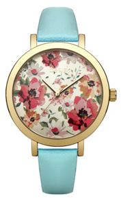 Oasis Ladies mint strap watch
