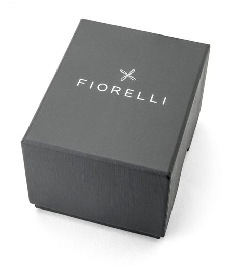 Fiorelli Ladies pink croc leather strap watch