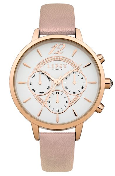 Lipsy Ladies nude strap watch