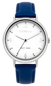 Fiorelli Ladies blue leather strap watch