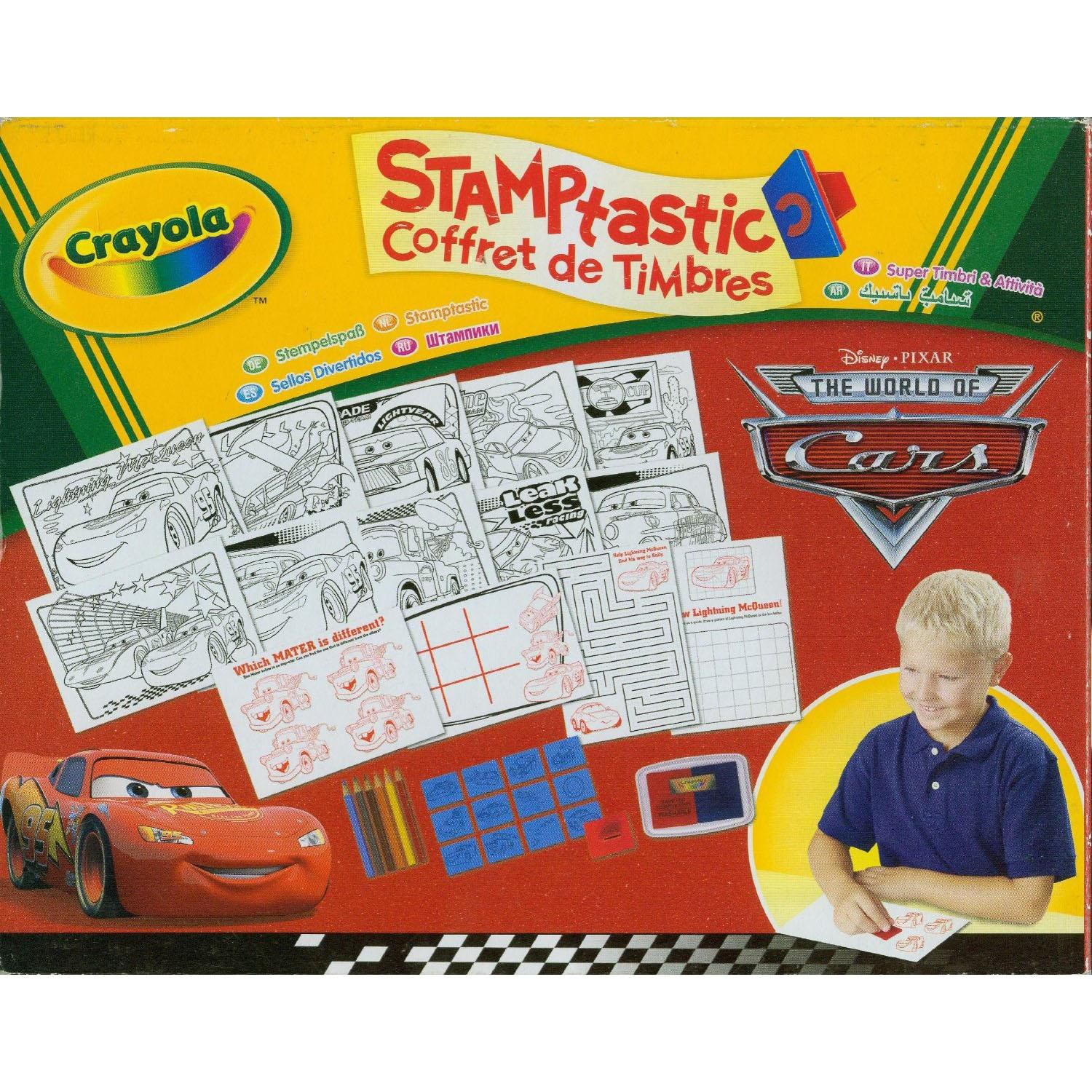 Crayola Stamptastic  The World of Cars