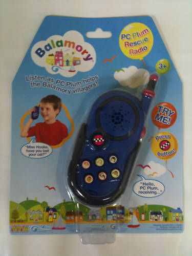 Childrens Balamory Pc plum rescue radio