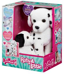 Animagic Interactive Dalmatian Mother & Pup