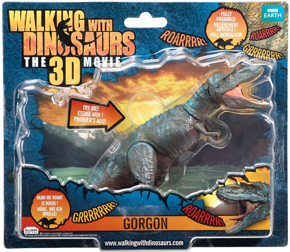 Walking with Dinosaurs Talking Gorgon