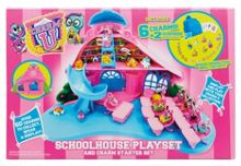 Charm U Schoolhouse Playset and Charm Starter