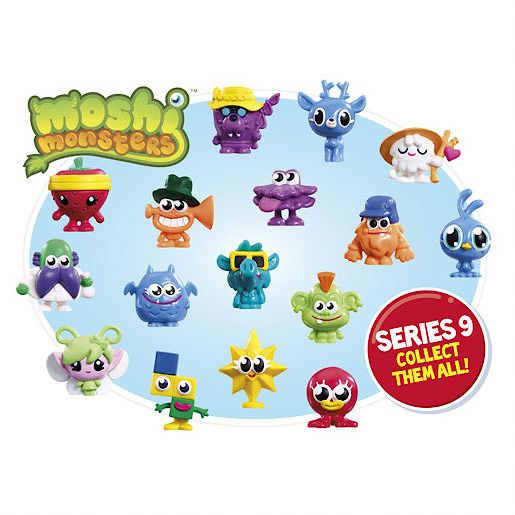 Five moshling collectibles pack - series 9