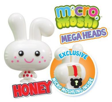 Micro Moshi Monsters Honey Mega Heads