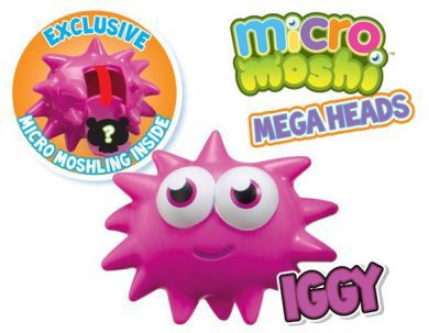 Micro Moshi Monsters Iggy Mega Heads