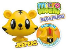 Micro Moshi Monsters Jeepers Mega Heads