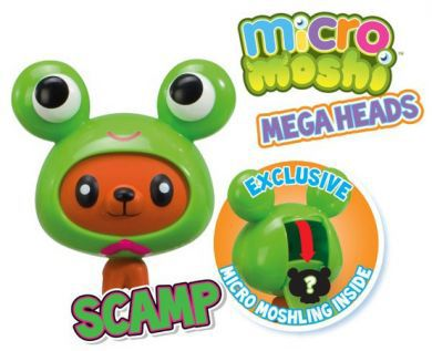 Micro Moshi Monsters Scamp Mega Heads