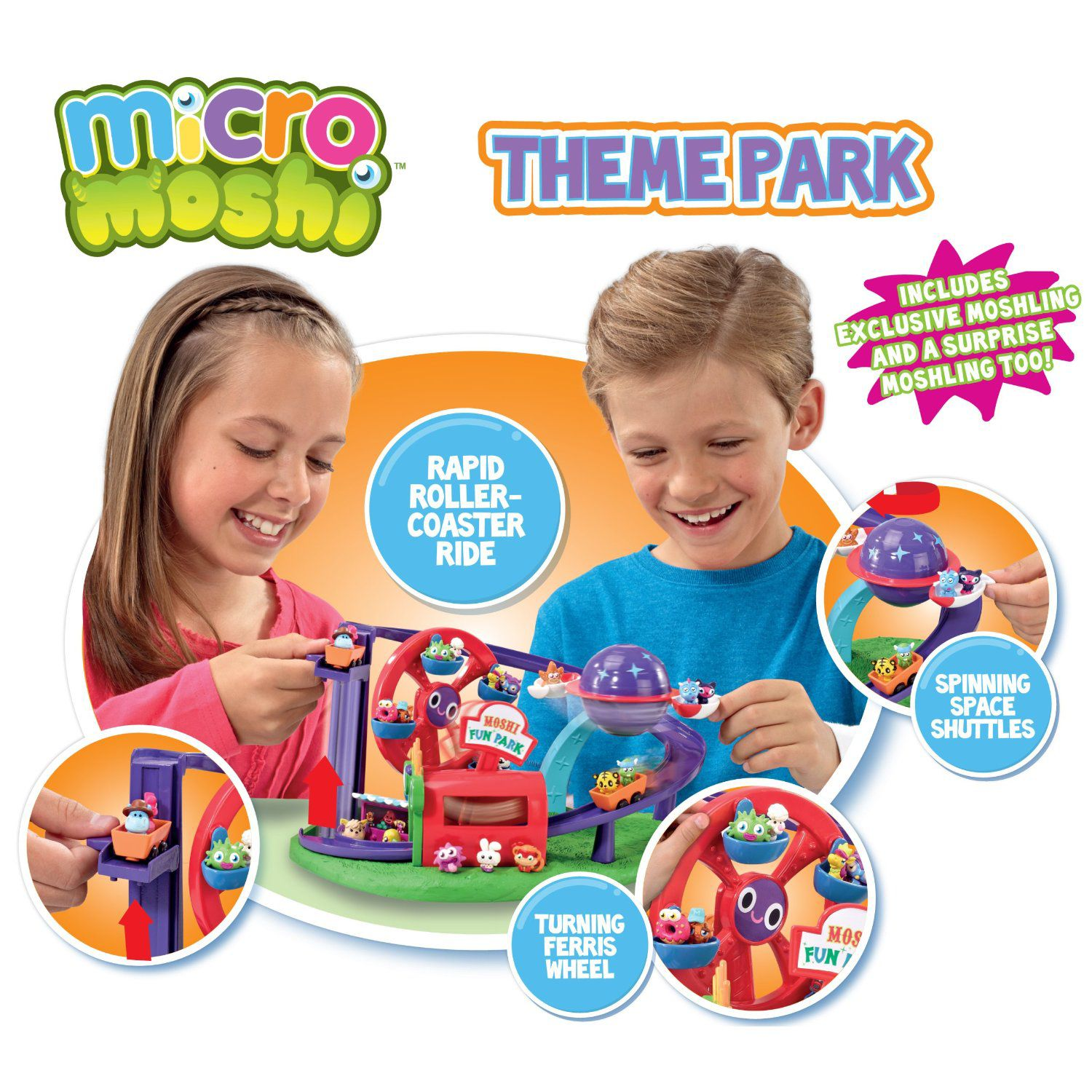 Micro Moshi Monsters Theme Park