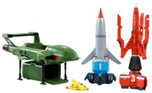 Thunderbirds Are Go Craft Super Set