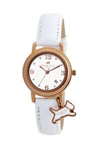 RY2006 Radley White Dog Charm Strap Watch