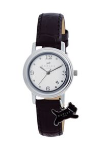 RY2007 Radley Black Dog Charm Strap Watch
