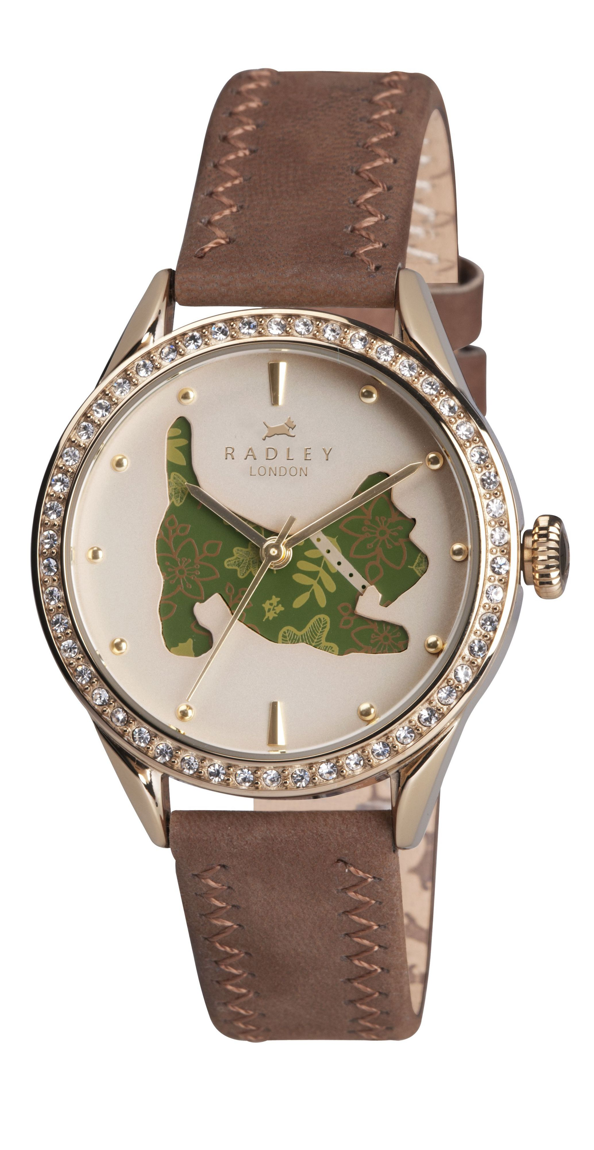 RY2084 Dog Dial Ladies Watch
