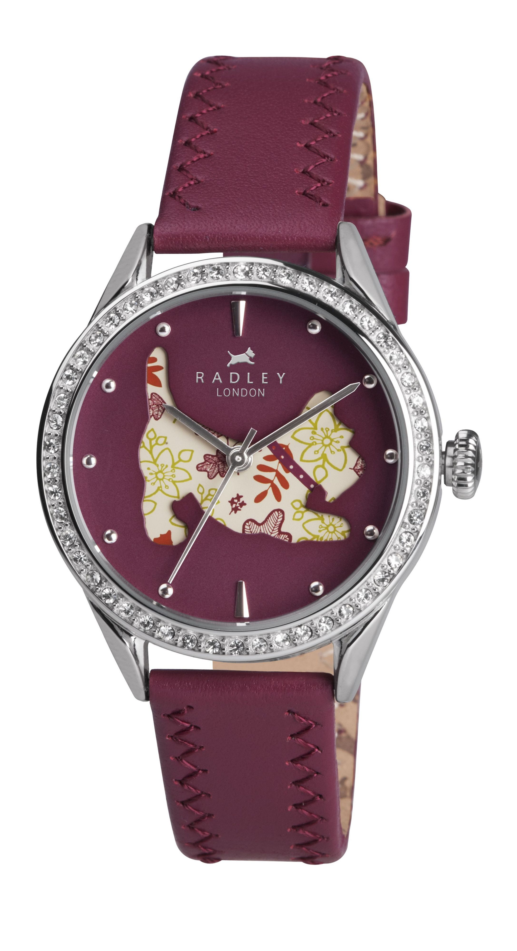 RY2085 Dog Dial Ladies Watch