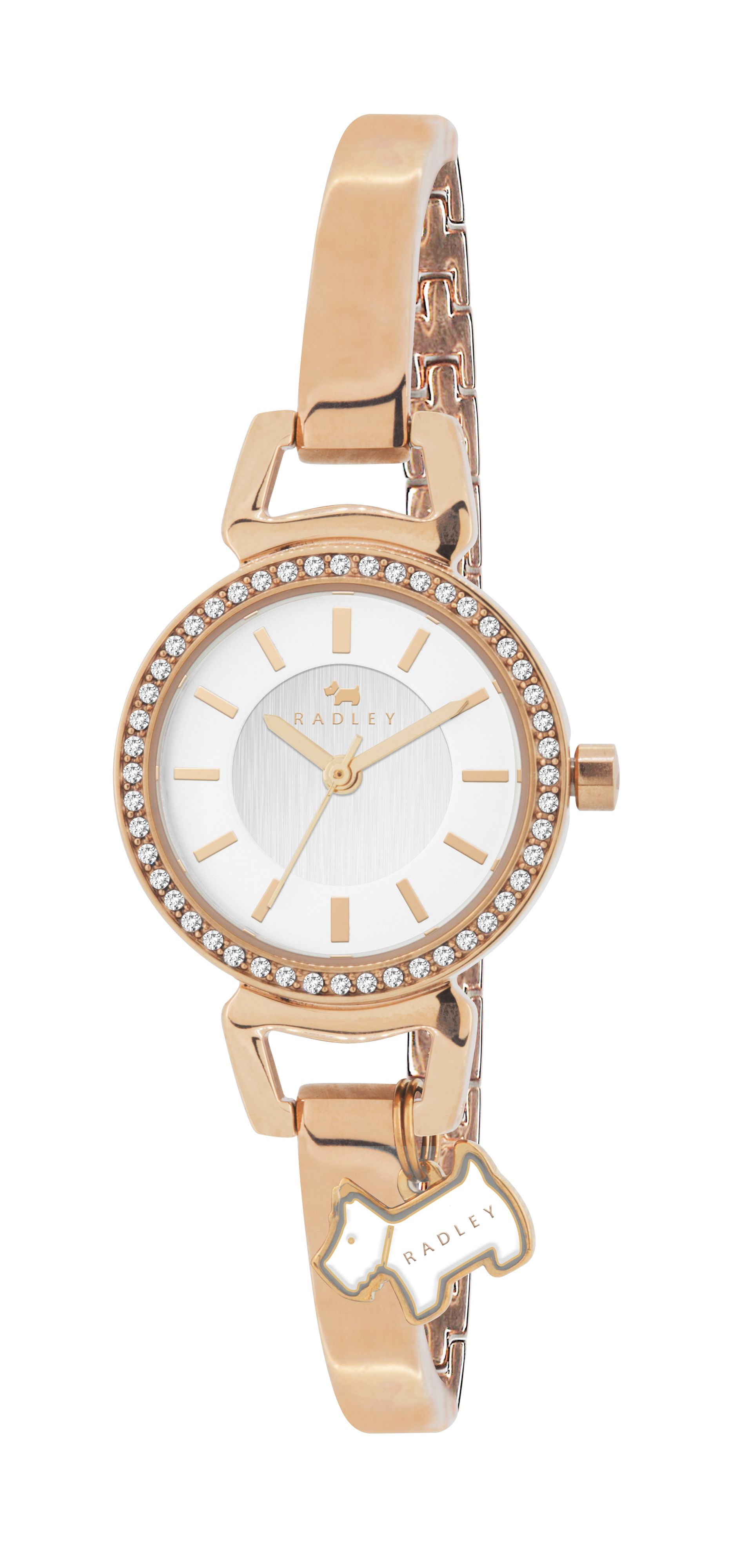 RY4154 rose gold plated ladies watch