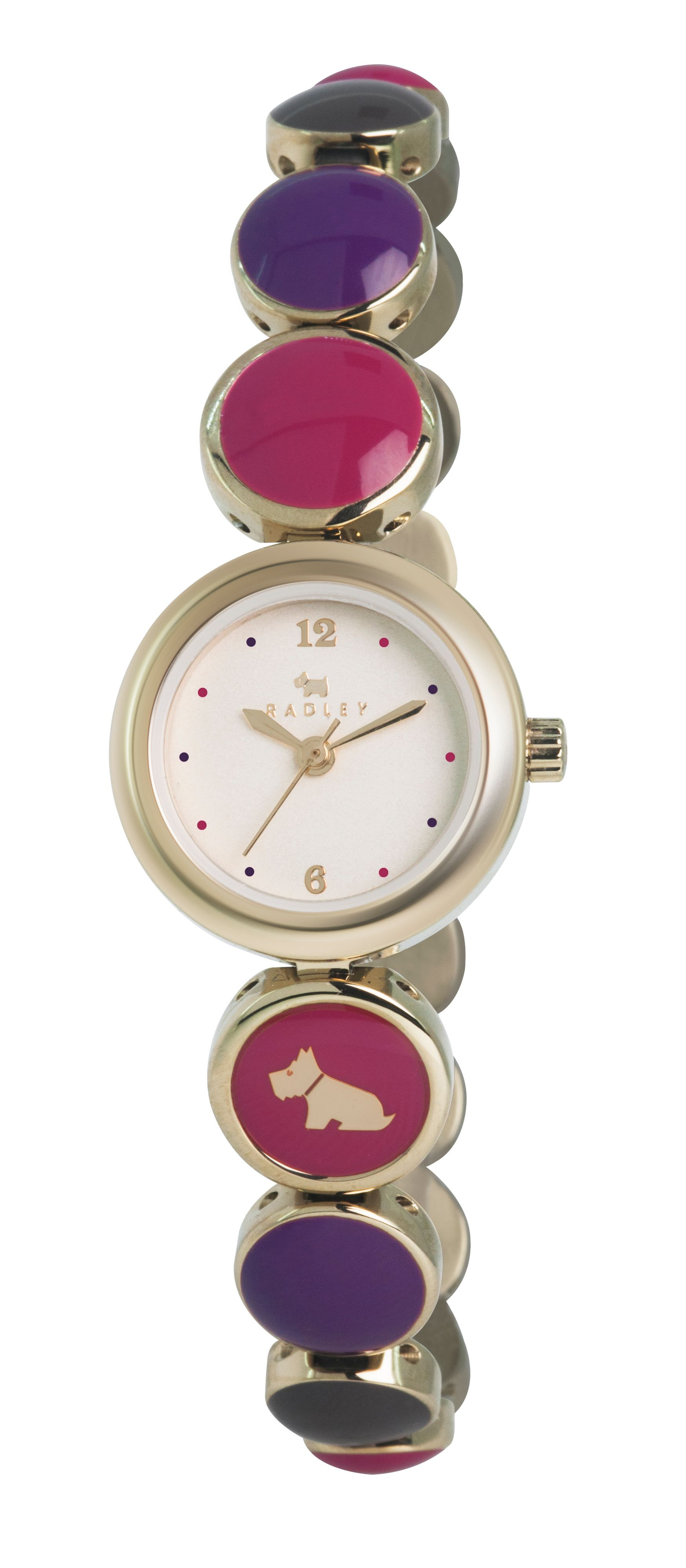 RY4168 Gold enamel ladies watch