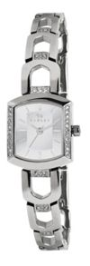 rY4175 Ladies silver steel metal bracelet watch