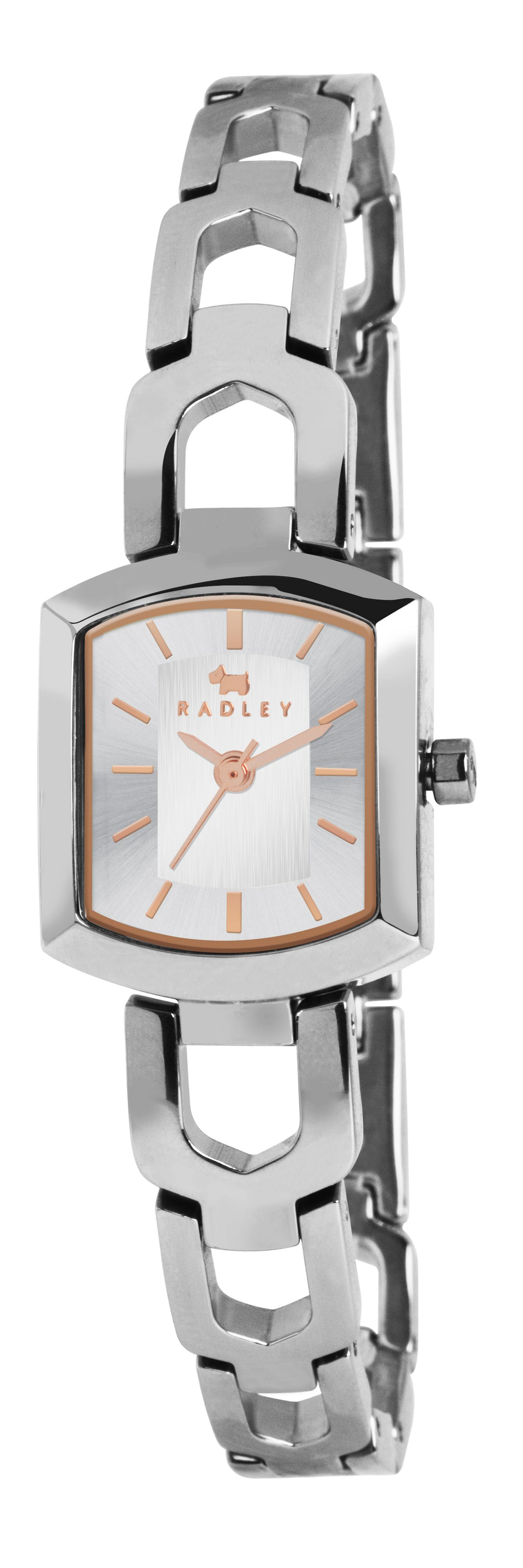 Radley stainless steel grosvenor bracelet watch