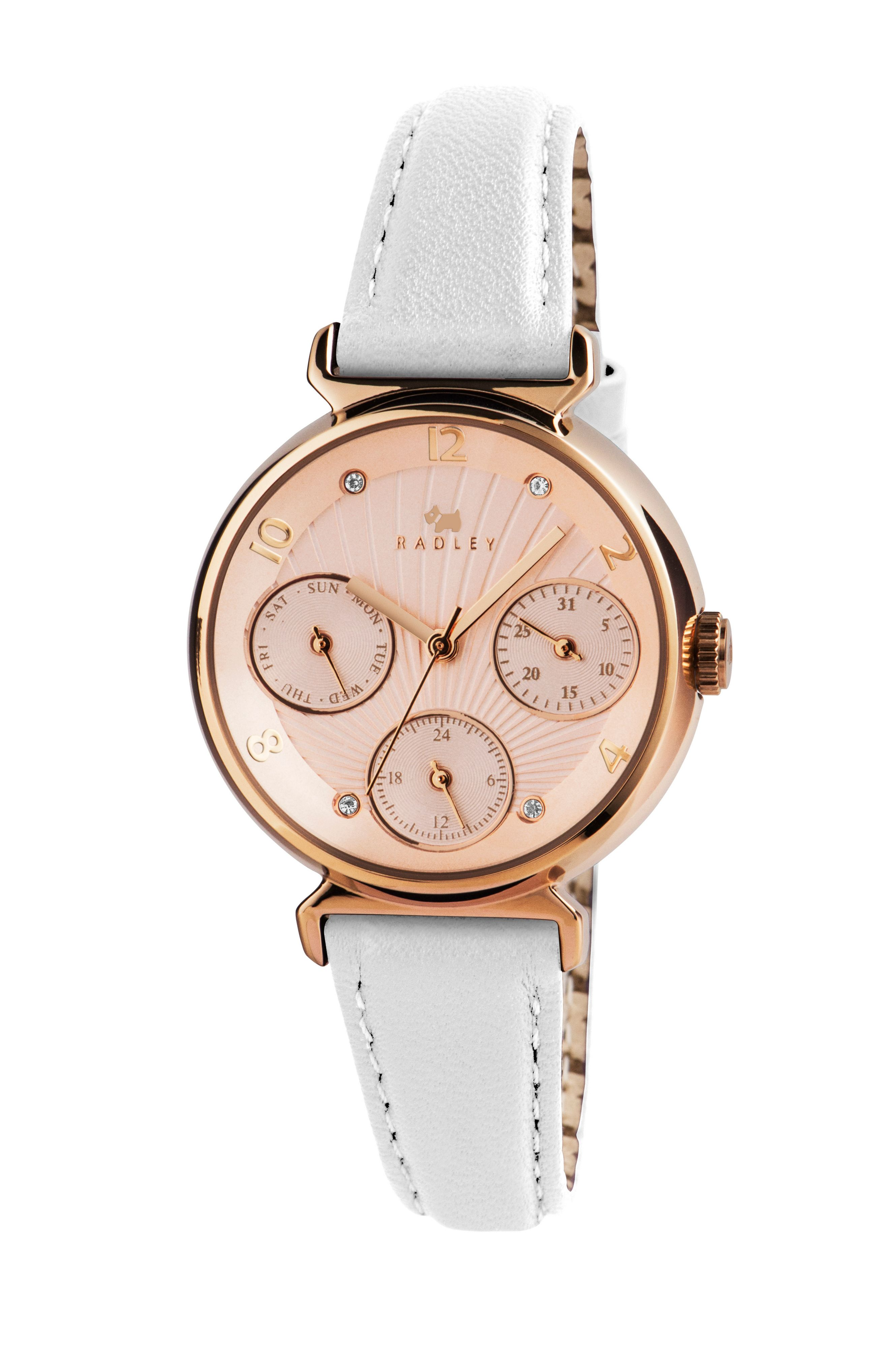 RY2246 Rose gold plated bracelet ladies watch