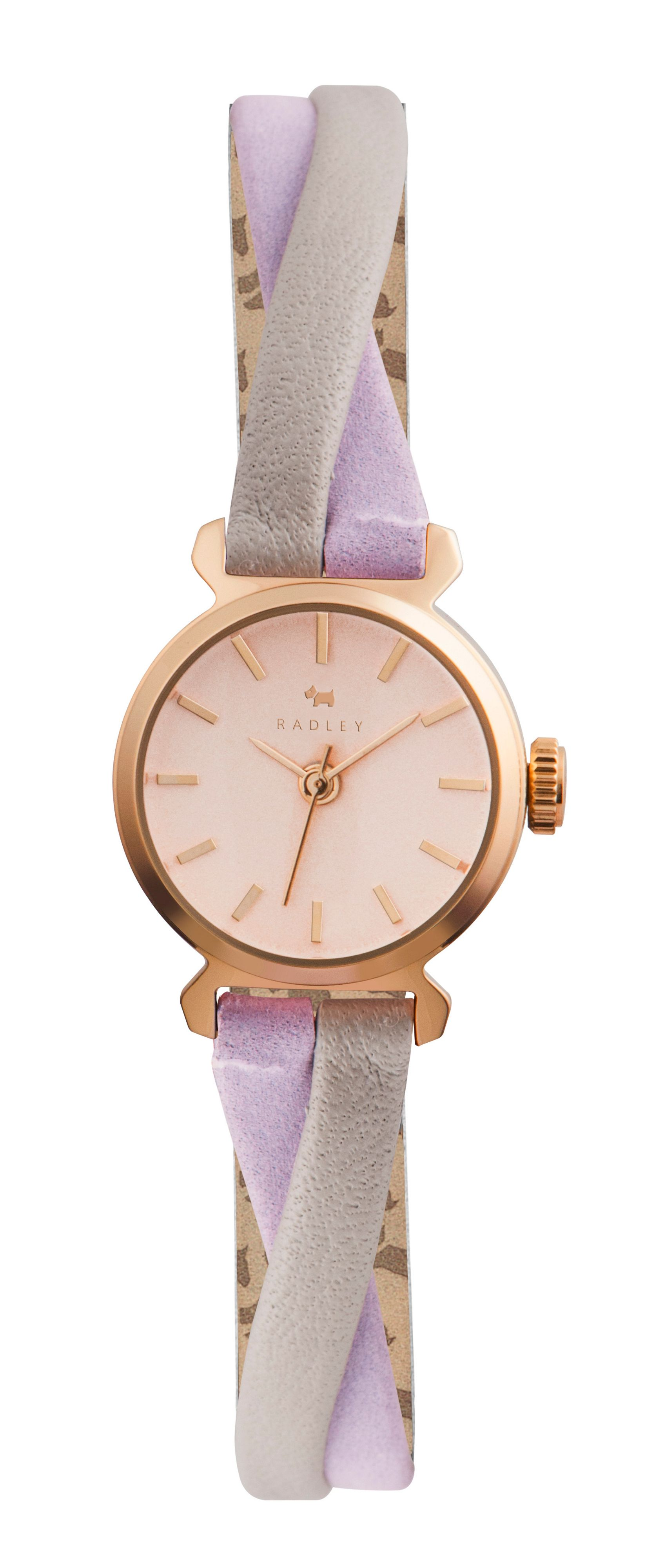 RY2256 Twisted vintage leather strap ladies watch