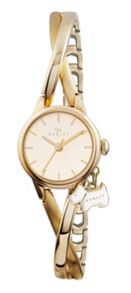 RY4182 Twisted vintage half bangle ladies watch